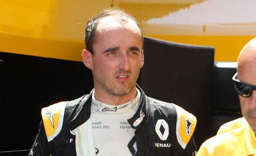 Robert Kubica on palannut F1-varikolle.