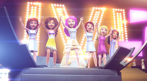 Lego Friends: Girlz 4 Life.