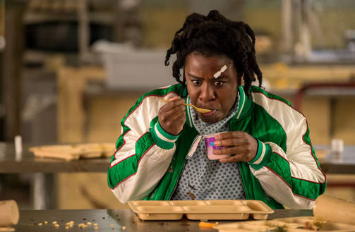 Uzo Aduba on Suzanne Warren eli Crazy Eyes.