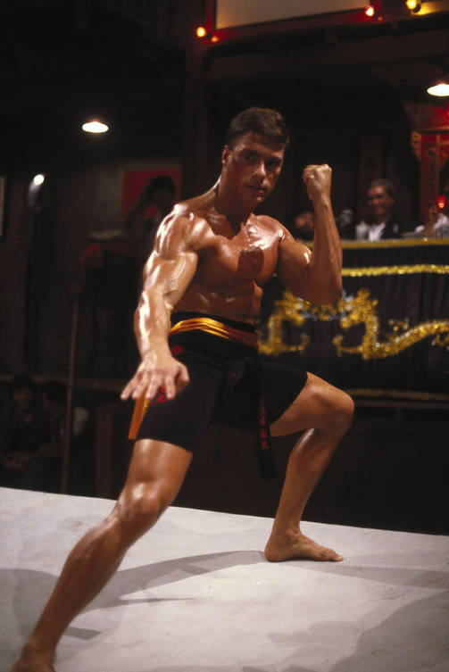 Jean-Claude van Damme on entinen karateka.